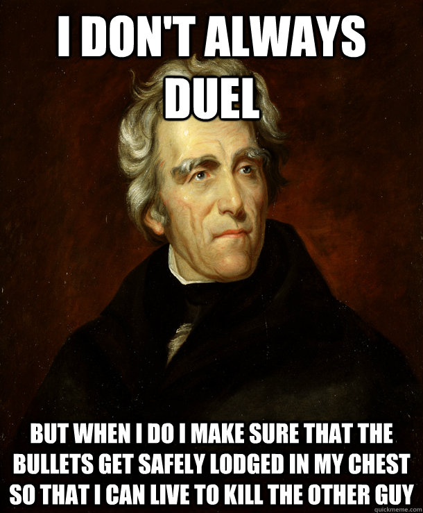 Image result for andrew jackson memes