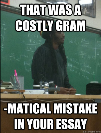 costly mistake essay