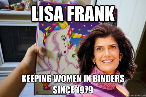 LISA FRANK KEEPING WOMEN IN BINDERS  SINCE 1979 - LISA FRANK KEEPING WOMEN IN BINDERS  SINCE 1979  lisa frank binders