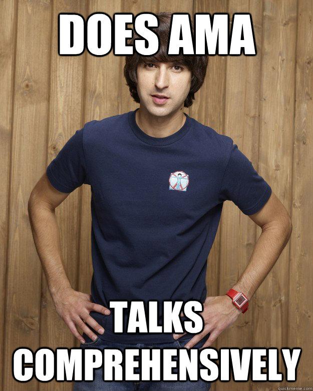 Does ama Talks comprehensively  - Does ama Talks comprehensively   Good Guy Demitri Martin