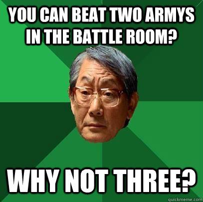 Asian room beating