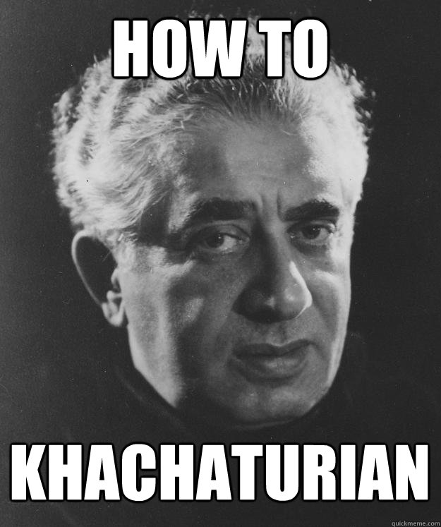 How to Khachaturian - How to Khachaturian  Misc