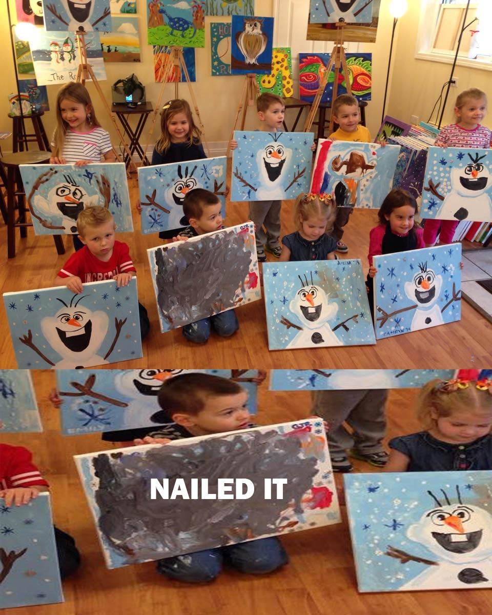 Nailed it. -   Misc