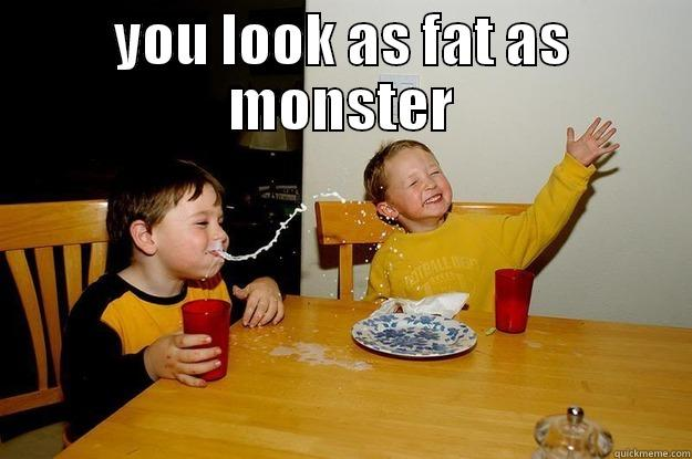 Poonam Nasa - YOU LOOK AS FAT AS MONSTER  yo mama is so fat
