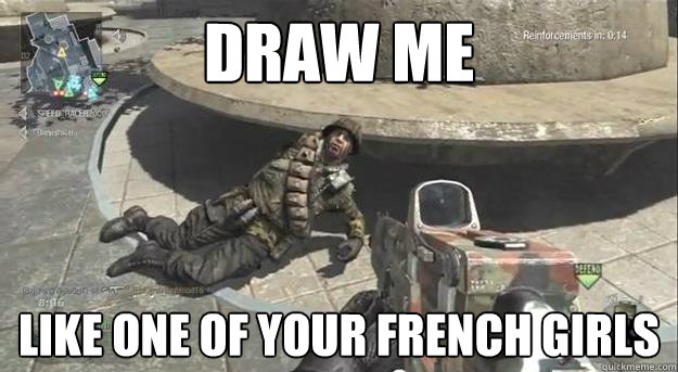 Draw Me Like One Of Your French Girls Draw Me Like One Of Your