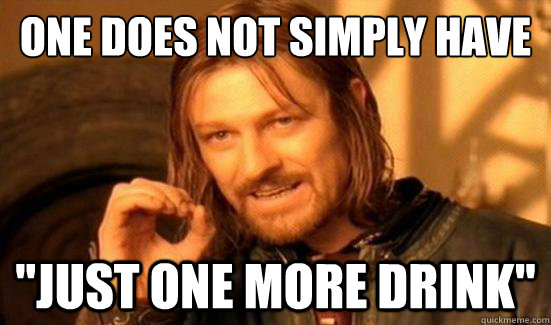 One Does Not Simply have