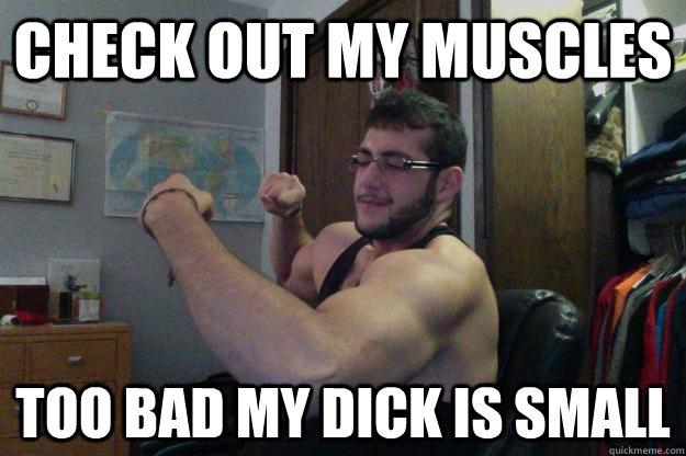 Big dick and small nipples