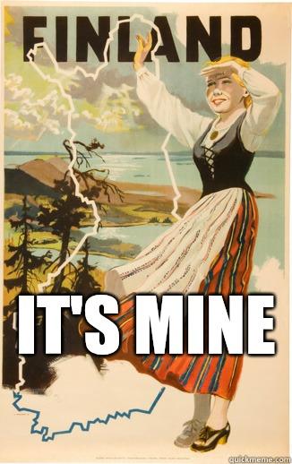 It's mine  -  It's mine   Finland Pun