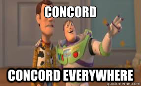 CONCORD CONCORD EVERYWHERE - CONCORD CONCORD EVERYWHERE  x-x everywhere