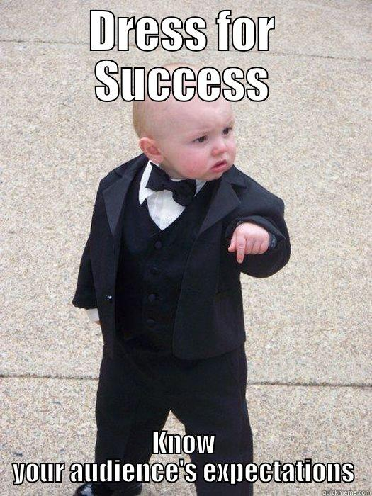 Dress for success funny images