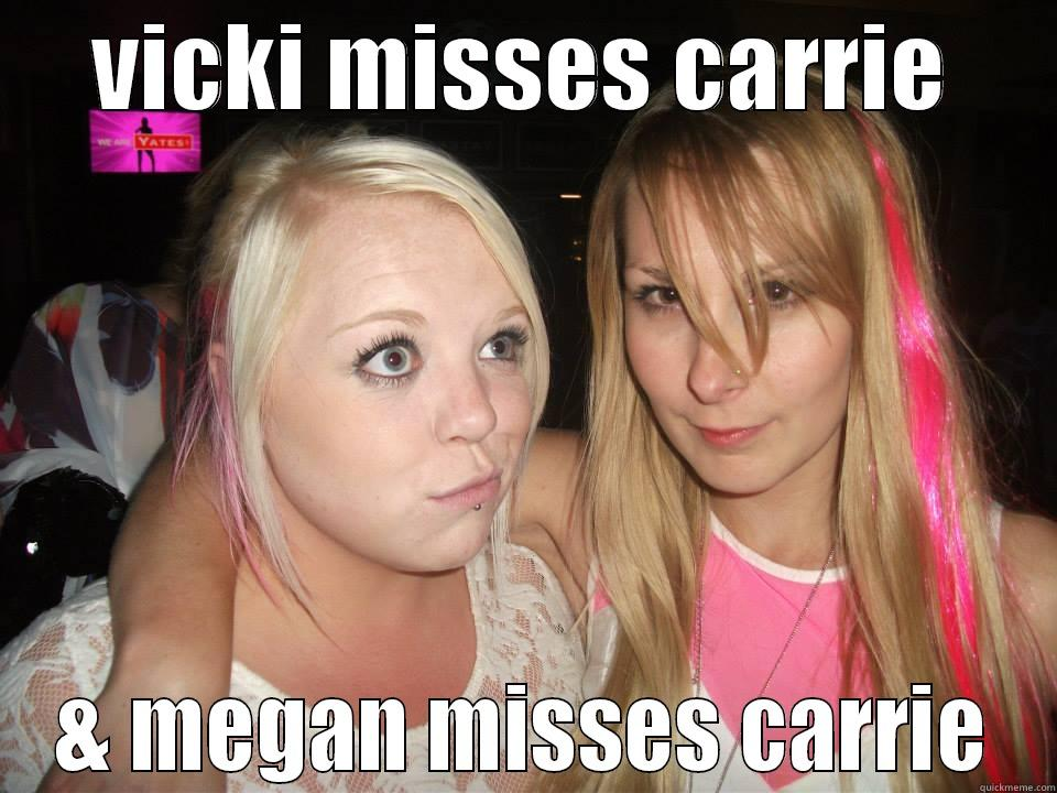 pretty pink ladies - VICKI MISSES CARRIE & MEGAN MISSES CARRIE Misc