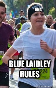 omg blue laidley rules - omg blue laidley rules  Tries Really Hard Girl