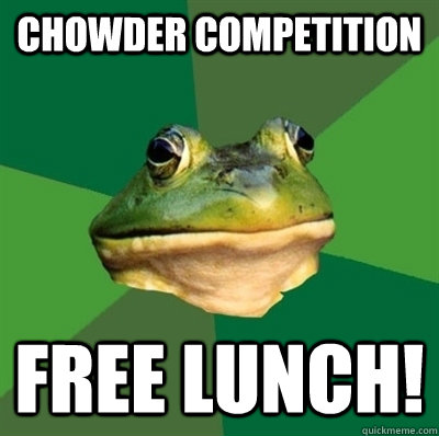 Chowder Competition Free Lunch!