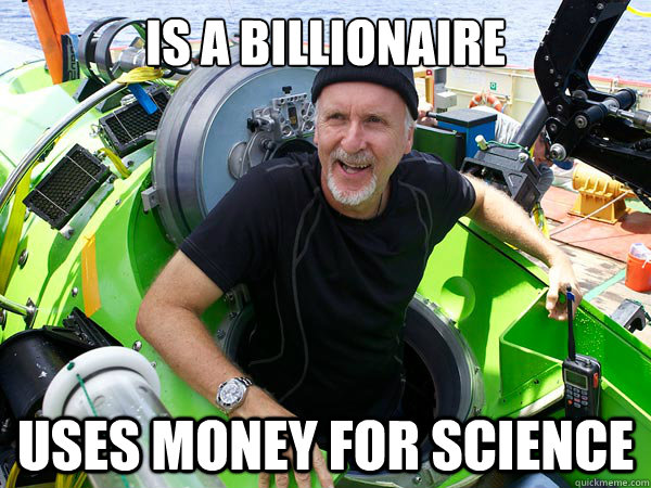 Is a billionaire uses money for science - Is a billionaire uses money for science  Misc
