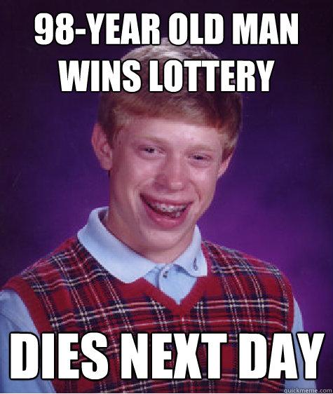 Man wins lottery twice yahoo dating