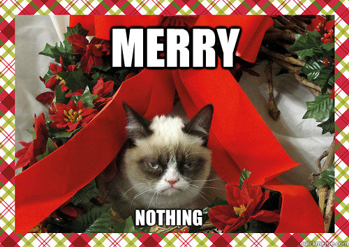 merry nothing merry nothing merry christmas