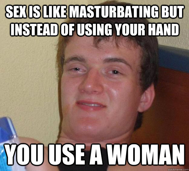 masturbation instead of sex