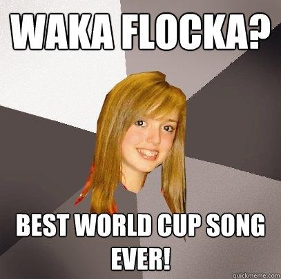 waka flocka? best world cup song ever! - waka flocka? best world cup song ever!  Musically Oblivious 8th Grader