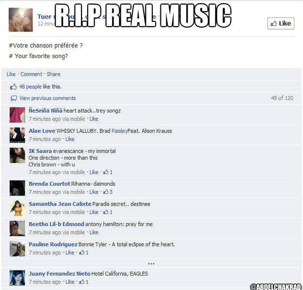 R.I.P real music @Abdelchakrad - R.I.P real music @Abdelchakrad  Misc