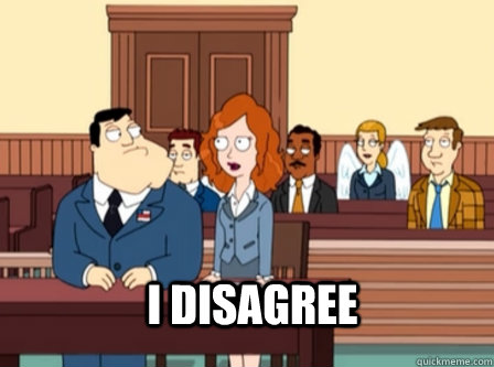 I disagree - I disagree  Misc