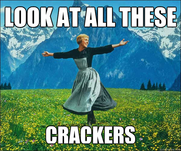 look at all these Crackers - look at all these Crackers  Sound of Music