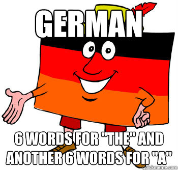 German 6 words for