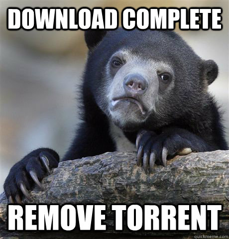 Download Complete Remove Torrent - Download Complete Remove Torrent  Confession Bear