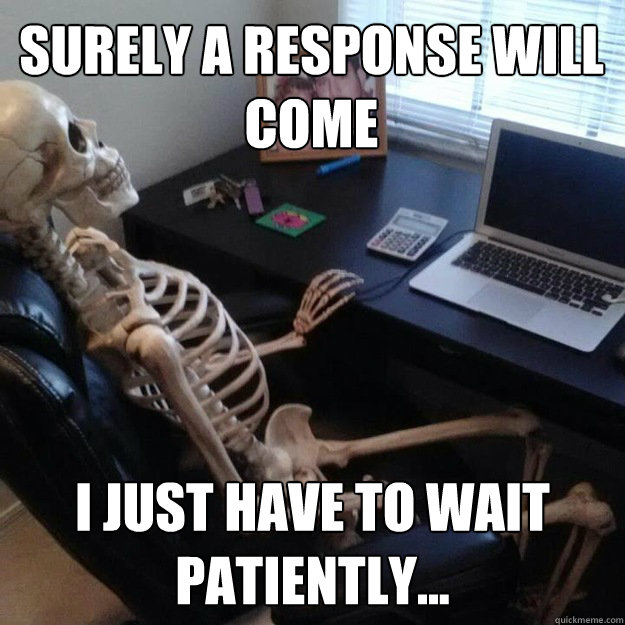 online dating how long to wait for reply