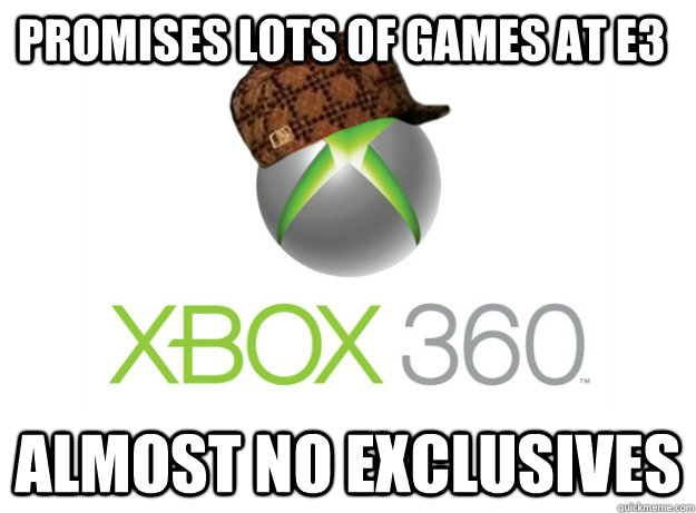 Promises lots of games at E3 Almost no exclusives