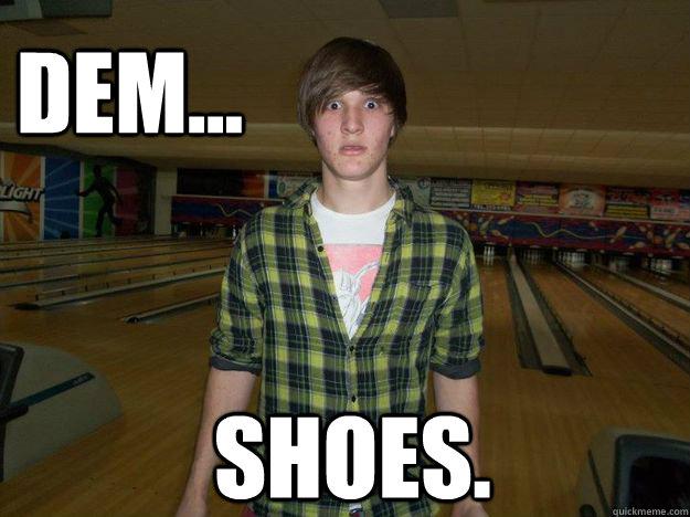 Bowling Shoes fetish memes | quickmeme