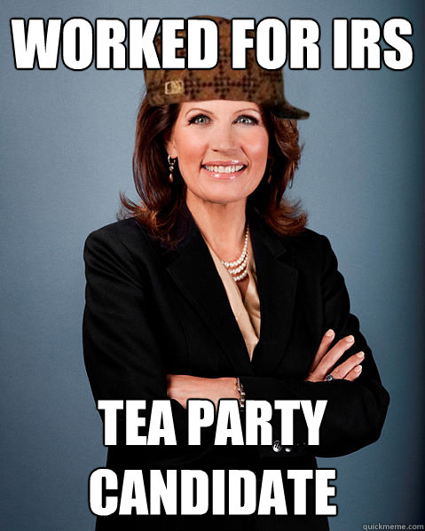 Worked for IRS Tea Party Candidate