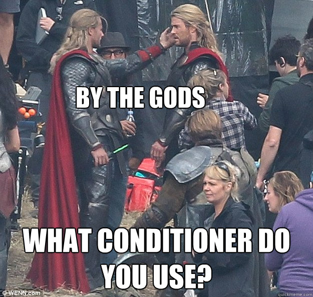 by the gods what conditioner do you use? - by the gods what conditioner do you use?  Misc