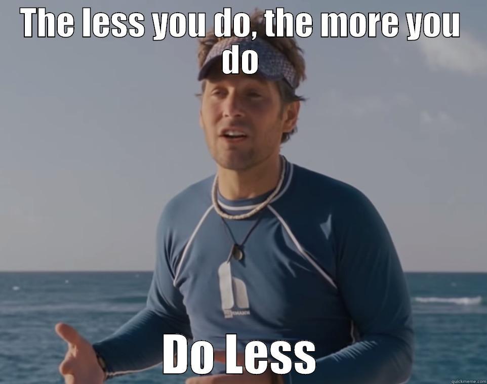 Do less Kunu - THE LESS YOU DO, THE MORE YOU DO DO LESS Misc