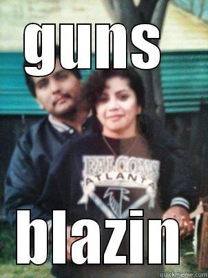 Bonnie and Clyde - GUNS  BLAZIN Misc