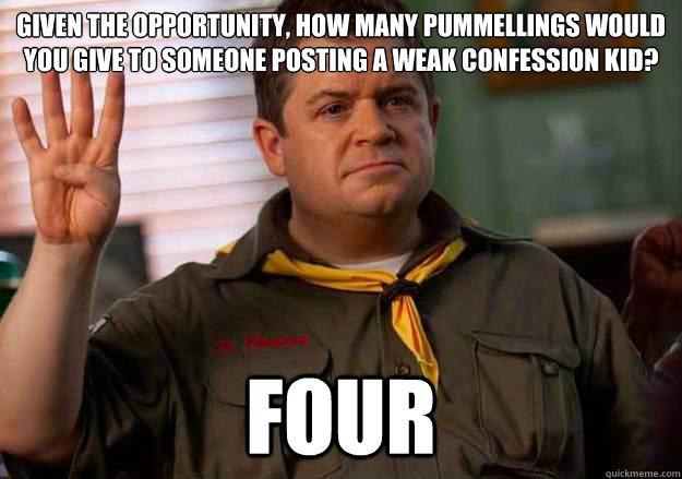 Patton Oswalt Counts To Four Memes Quickmeme