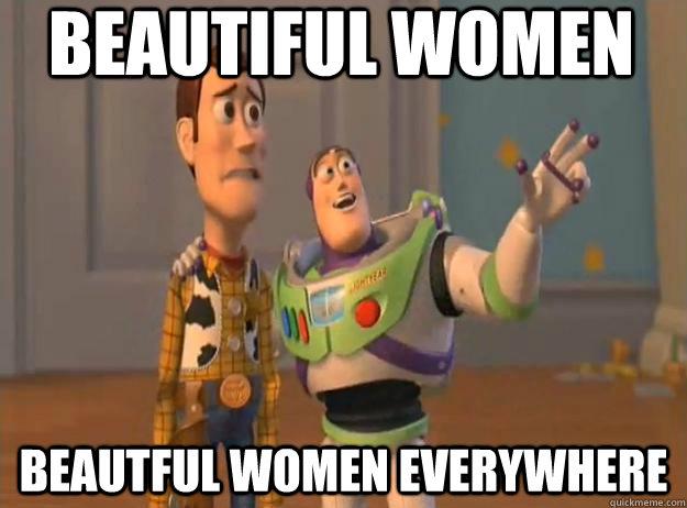 Beautiful women beautful women everywhere