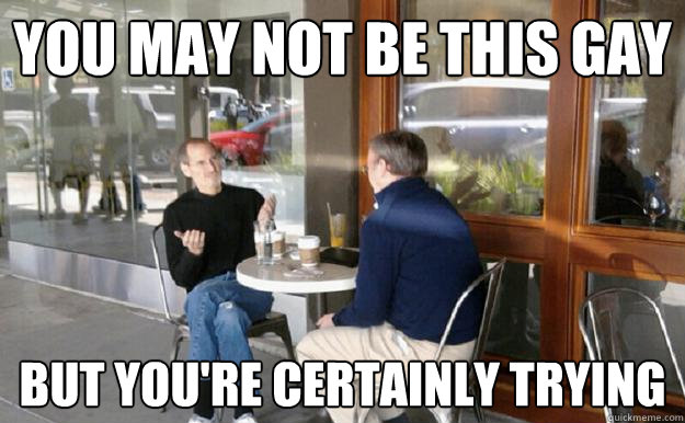 Steve Jobs Gay Memes Quickmeme