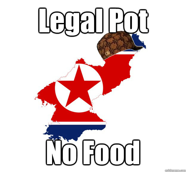 Legal Pot No Food