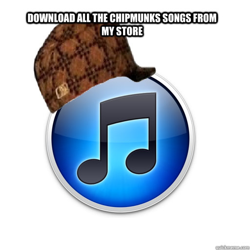 download all the chipmunks songs from my store
