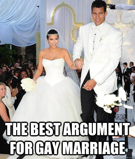 gay marriage argument