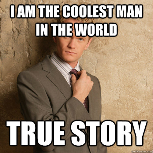 I am the coolest man in the world true story