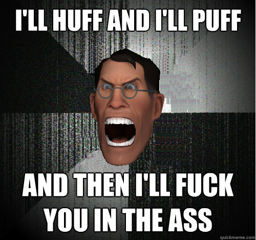 I fuck your ass