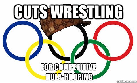 Cuts Wrestling For Competitive  Hula-Hooping