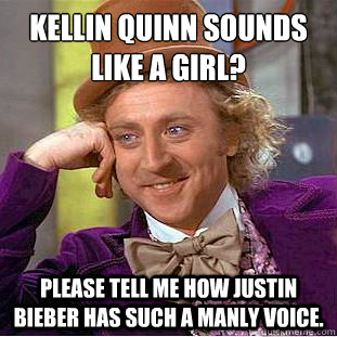 d694ad504e08b3c7fa6f467b4dd7bf317fed692cc1bab6d1b54120a0a2061293 kellin quinn sounds like a girl? please tell me how justin bieber