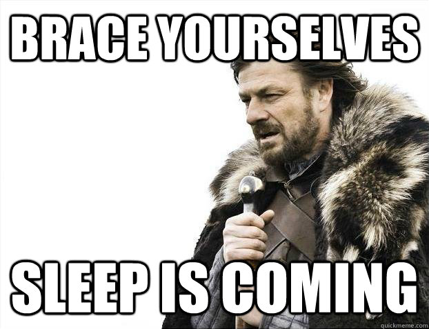 Brace yourselves Sleep is coming - Brace yourselves Sleep is coming  Misc