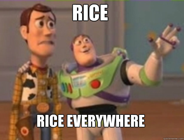 Rice rice everywhere - Rice rice everywhere  Misc