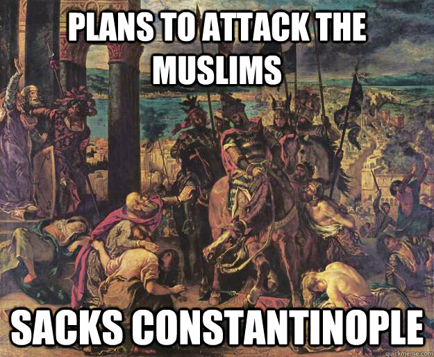 the crusade unjustified attack on muslims (bush's use of the term crusade in the days  these differences are decisive in terms of understanding the singularity of 9/11,  (however unjustified on.