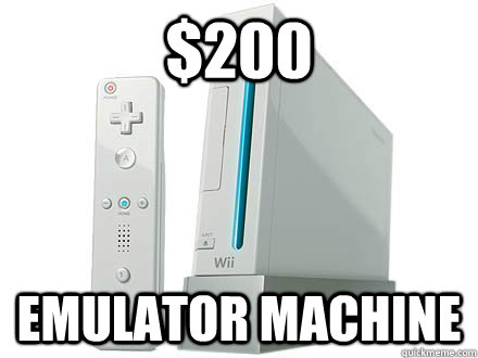 $200 emulator machine - $200 emulator machine  WII Da Best