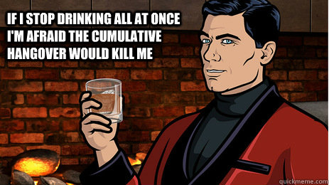 archer drinking game MEMEs