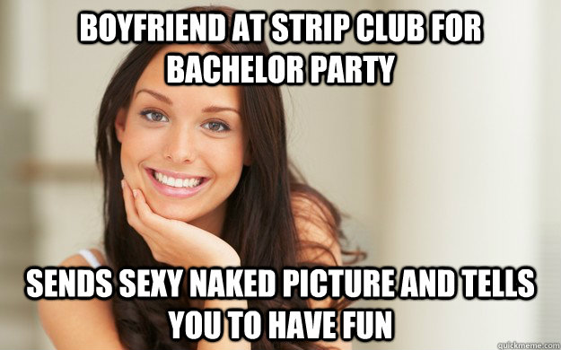 naked girl at batchler party